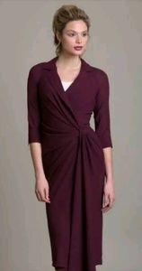 Dresses & Skirts - Byron Lars Beguile Maroon Wrap Dress